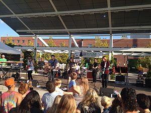 The Mowgli's - The Mowgli's performing at Guthrie Green in downtown Tulsa, OK on September 7, 2014