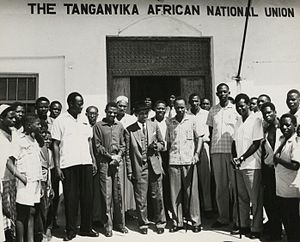 Tanganyika African National Union - Image: The National Archives UK CO 1069 165 3
