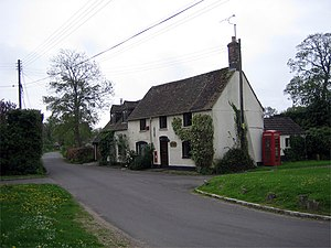 Bloxworth - Image: The Old Post Office, Bloxworth geograph.org.uk 163270