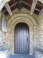 The Porch of St Oswalds, Horton in Ribblesdale - geograph.org.uk - 428544.jpg