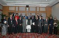 The Prime Minister, Dr. Manmohan Singh with the members of the PM's Global Advisory Council of Overseas Indians, in New Delhi on January 07, 2010.jpg