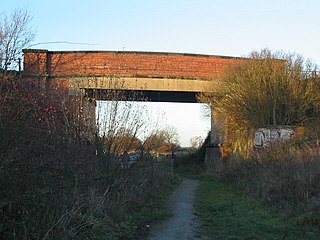 York and Doncaster branch Railway line in Yorkshire, England