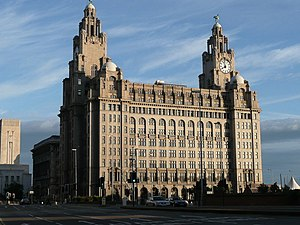 Royal Liver Building - Royal Liver Building, Pier Head, Liverpool