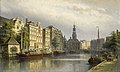 The Singel, Amsterdam, looking towards the Mint by Eduard Alexander Hilverdink Rijksmuseum Amsterdam SK-A-1329.jpg