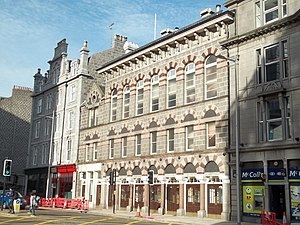 The Tivoli Theatre on Guild Street, Aberdeen