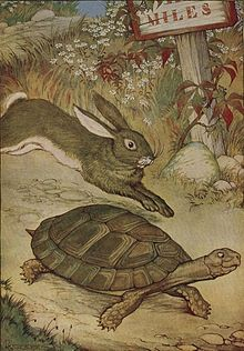 The Tortoise and the Hare - Project Gutenberg etext 19994.jpg