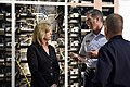 The USA's Secretary of the Air Force visits Cheyenne Mountain, 2015-05-27, 150527-F-VT441-007 (18012270749).jpg
