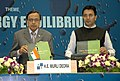 The Union Minister for Petroleum and Natural Gas, Shri Murli Deora releasing a book titled 'Glory, Growth, Goals', at Petrotech 2010, in New Delhi on November 01, 2010.jpg