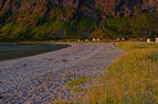 The beach at Titterbakken in the Ersfjord.jpg