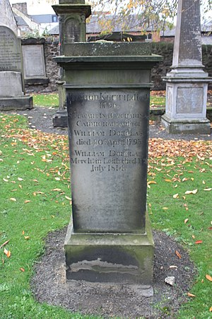 Robert Keith (historian) - The grave of Bishop Robert Keith, Canongate Kirkyard, Edinburgh
