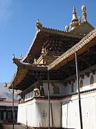 The rooftop of the Potala