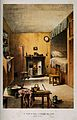 The room where David Livingstone was born. Lithograph. Wellcome V0018819.jpg