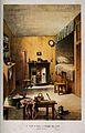 The room where David Livingstone was born. Lithograph. Wellcome V0018819.jpg