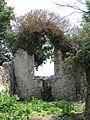The ruined church of St Martin - east window - geograph.org.uk - 1372651.jpg