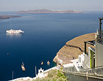 Therasia and Mesa Gialos - old harbour of Fira - Santorini - Greece.jpg