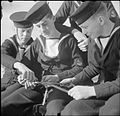 They Learn To Be Sailors- Sea Cadet Training on the Training Ship HMS Undine, Bowness-on-windermere, England, UK, 1943 D16452.jpg