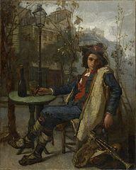 Young Italian Street Musician