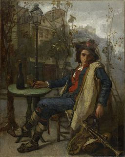 Thomas Couture - Young Italian Street Musician - 69.6 - Minneapolis Institute of Arts