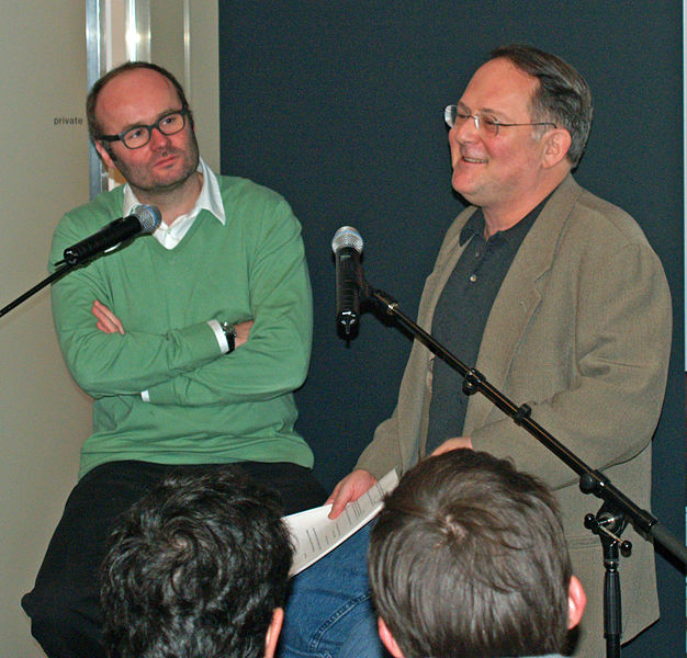 File:Thomas Demand and Craig Unger by David Shankbone.jpg