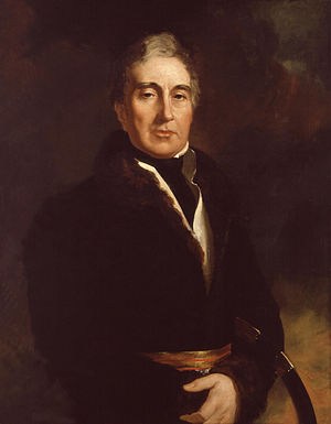 90th Regiment of Foot (Perthshire Volunteers) - Portrait of Thomas Graham, founder of the regiment, by Sir George Hayter