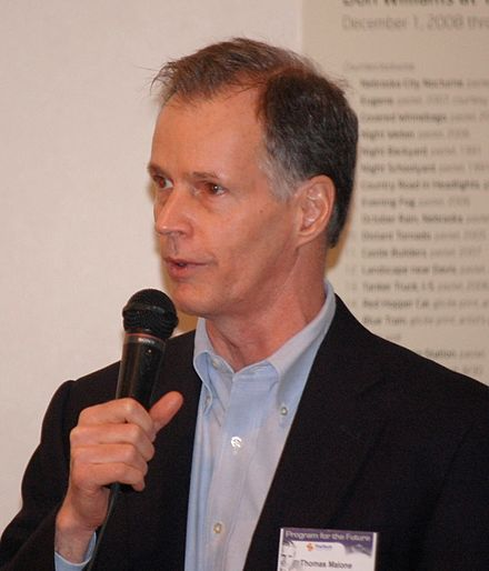 Thomas W. Malone in 2008 Thomas W Malone 2008.jpg