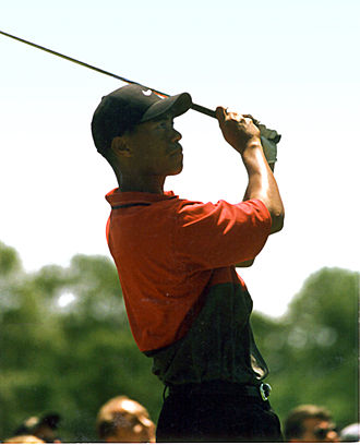 1997 U.S. Open (golf) - Tiger Woods at the 1997 U.S. Open.