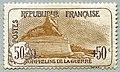 Timbre orphelins 1918 50 cent L J Dumoulin.jpg