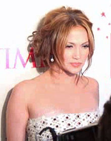 Jennifer Lopez at the 2006 Time 100 gala event at the Time Warner Center, New York City, New York, on May 8, 2006