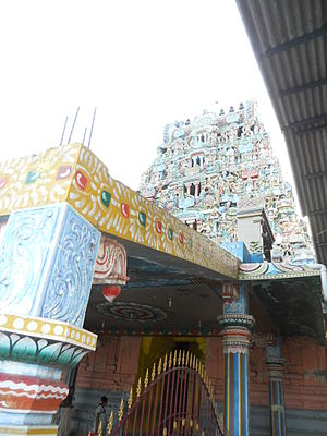 Garbharakshambigai temple - Entrance of the temple