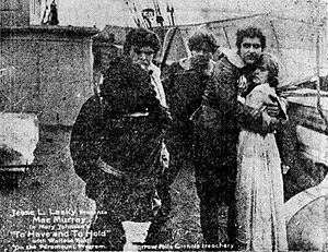 To Have and to Hold (1916 film) - Scene from the film
