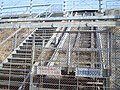 Tokaido Shinkansen maintenance workers stair & slide lift- Tamari.jpg