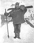 Tom Crean with skis 1911.jpg