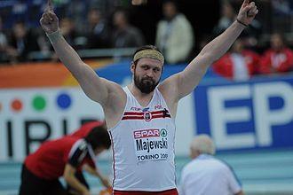 Tomasz Majewski - Majewski took gold in Turin in 2009