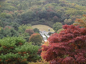 Seoul National Cemetery - Tomb of President Park Chung Hee in Seoul National Cemetery