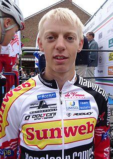 Michael Vanthourenhout Belgian cyclist