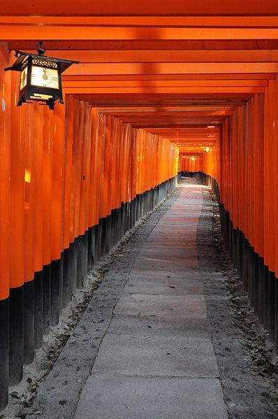 Les temples japonais 398px-Torii_%C3%A0_Inari