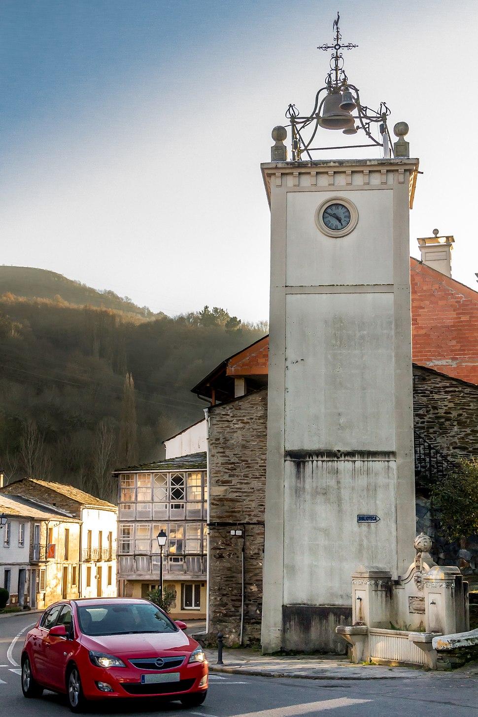 Torre reloj de Samos