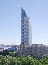 Torre das Telecomunicações em Montevidéu