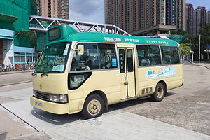 Public light bus - Image: Toyota Coaster Mini Bus 2015
