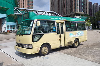 Public light bus - Image: Toyota Coaster Mini Bus 2015