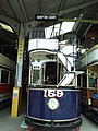 Tram Depots - National Tramway Museum - Crich - London United Tramways 159 (15381141131).jpg