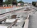 Travaux de la branche vers Vieux-Condé de la ligne B du tramway de Valenciennes en mai 2012 (090).JPG