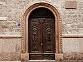 Trento-Conci tower house-portal on the southern side.jpg