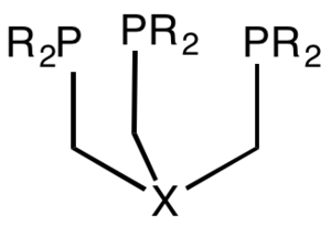 Tripodal ligand - Image: Tripodal Phosphine