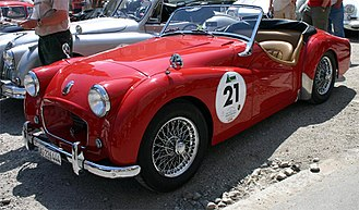 Triumph TR2 - Image: Triumph tr 2