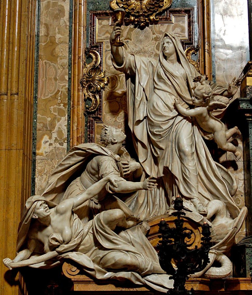 Triumph of Faith over Idolatry Theodon