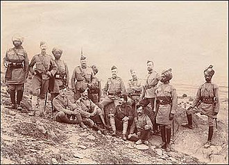 Siege of Malakand - A mixture of British troops and Sikh sepoys fought in Malakand.