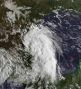 1999 Atlantic hurricane season - Image: Tropical Depession Seven 06 sept 1999 1315Z