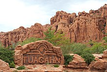 Tuacahn Fountain Sign.JPG