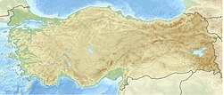Location map Turkey is located in Turkey